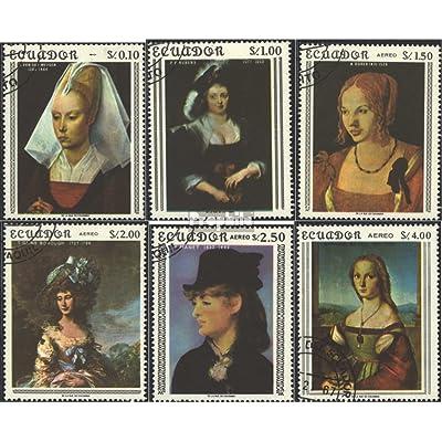 équateur 1362-1367 (complète.Edition.) 1967 mme images (Timbres pour les collectionneurs)