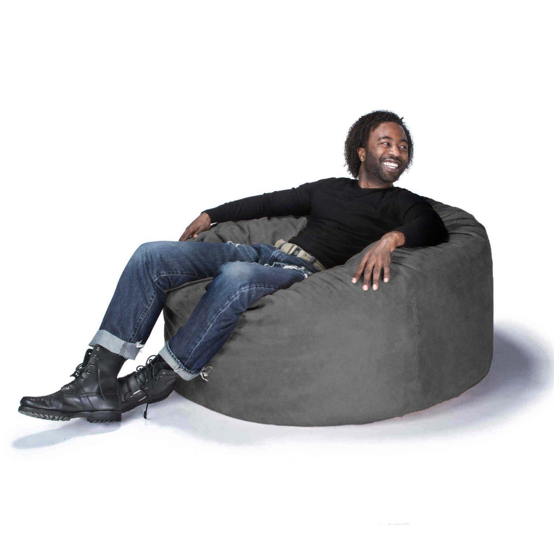 Amazon Jaxx Bean Bag Gaming Chair Charcoal 4 Kitchen & Dining