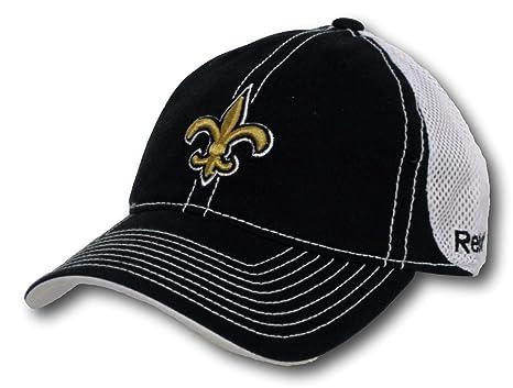 596401cf983 Image Unavailable. Image not available for. Color  Fan Apparel New Orleans  Saints Mesh Back Adjustable Hat Lid Cap