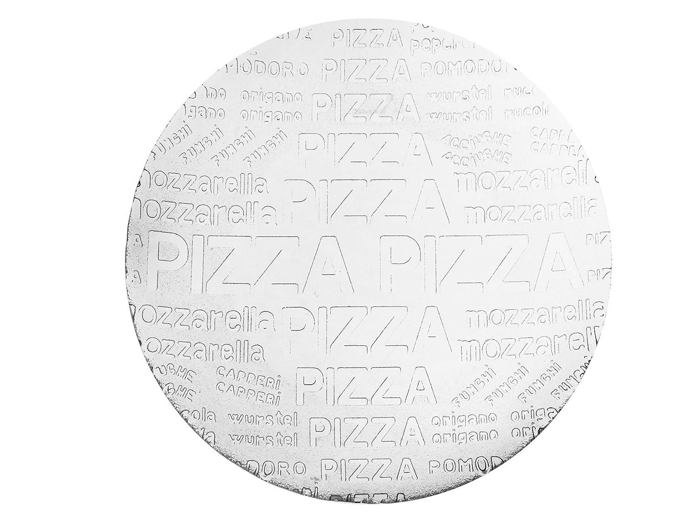 Home Plat /à Pizza en Verre Transparent 33/x/33/x/2/cm