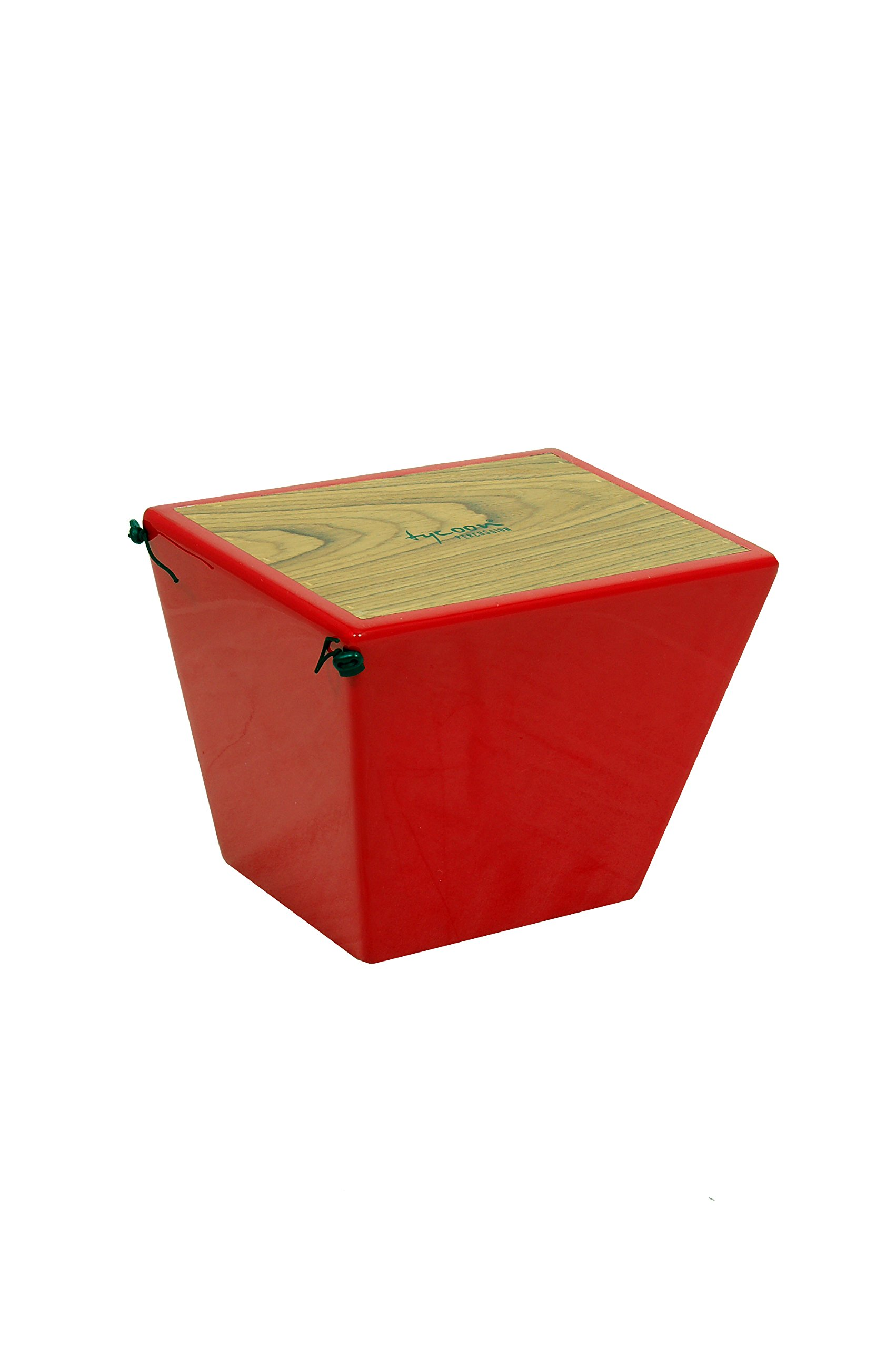 Tycoon Percussion Siam Oak Quinto Cajon - Red by Tycoon Percussion