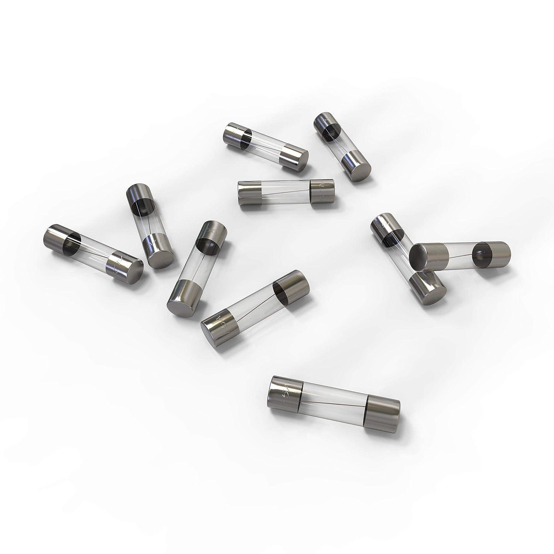 20A Schmelzsicherung Auswahl 1 St/ück AUPROTEC Glassicherung 5x20mm Feinsicherung 1A 15A Ampere