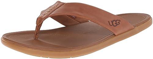 UGG Men's Delray Flip Flop, Chestnut, ...