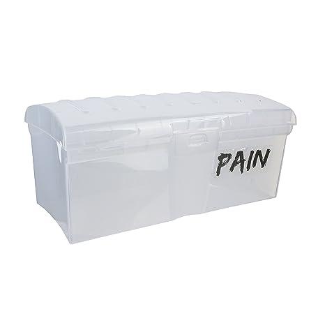 EASY MAKE kb5766 Caja de Pan de Molde plástico Transparente 29 x 14 x 12,