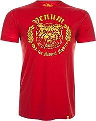 Venum Men's Natural Fighter Bear T-Shirt
