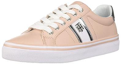 369ffccd8 Tommy Hilfiger Women's FENTII Sneaker, Light Pink, 4.5 UK: Amazon.co ...