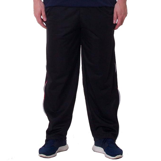 Henry Terre - Pantaloni con cerniera a due vie su entrambi i lati per  attivita fisica 60c6c1819a57