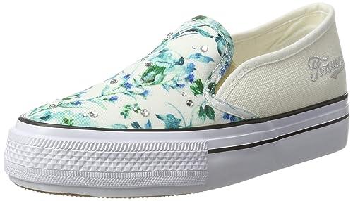 Fiorucci FEPC014, Sneaker Donna, Bianco (Bianco Bianco), 38 EU