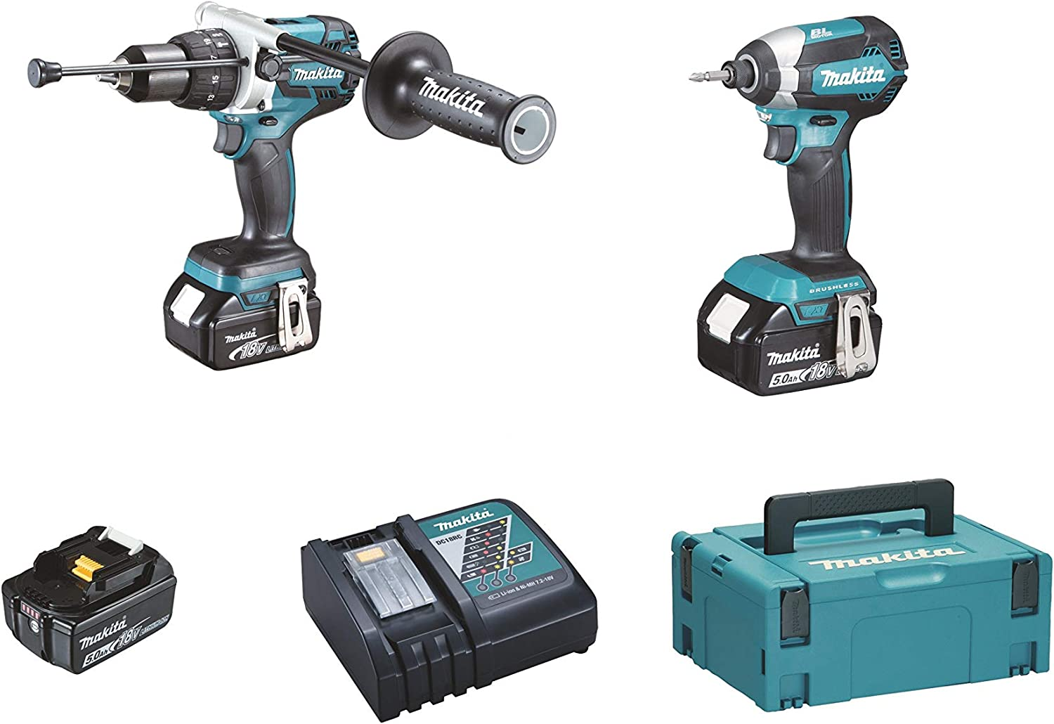 Makita DLX2174TJ1 Kit Combo