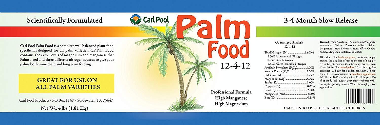 amazon com palm food 12 4 12 4 lbs fertilizers garden outdoor