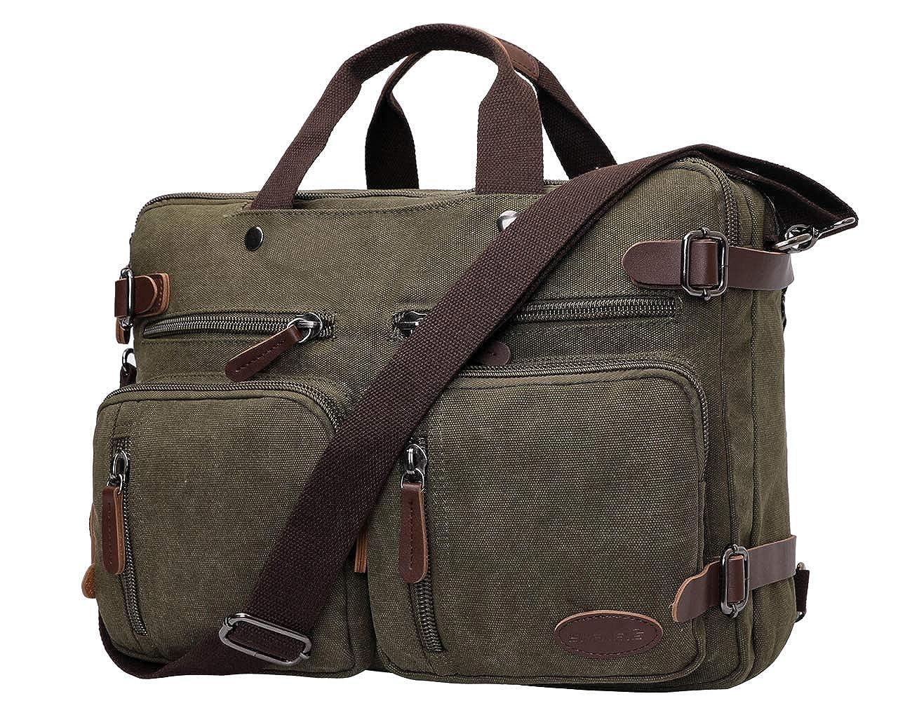 15.6 Inch Laptop Backpack Messenger Bag