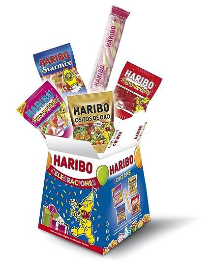 Haribo Haribo Celebraciones Surtido de Golosinas - 100 gr - , Pack de 6