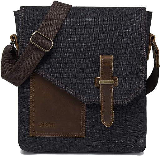 Adjustable Messenger Bag Vintage casual Small Canvas Shoulder Crossbody Purse