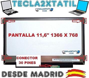 "Pantalla Compatible para PORTATIL 11,6"" Acer travelmate B115-M-28PW WXGA"