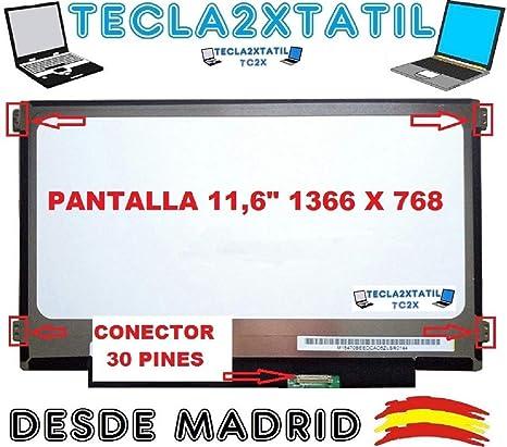"""Pantalla Compatible DE Y para PORTATIL HP N6l19up 11,6"""" HD LCD LED 30"""