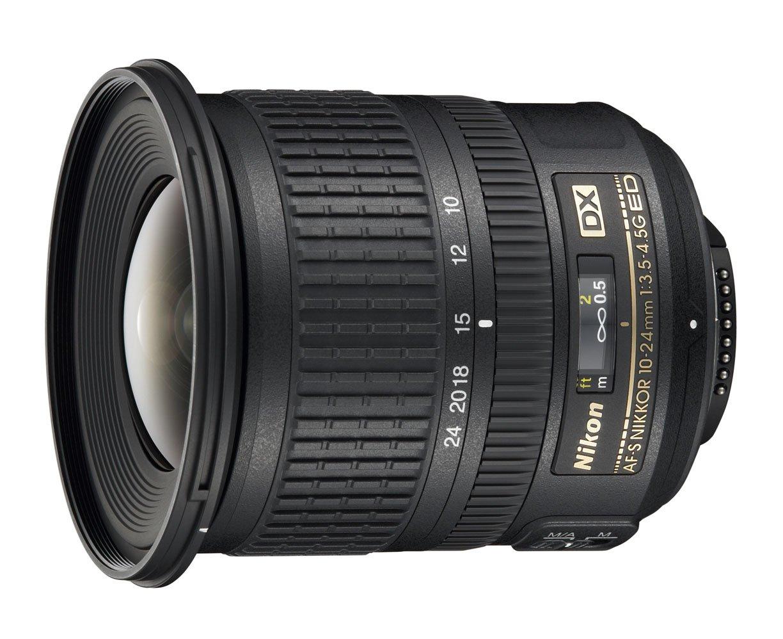 Nikon AF-S DX NIKKOR 10-24mm f/3.5-4.5G ED Zoom Lens with Auto Focus for Nikon DSLR Cameras by Nikon