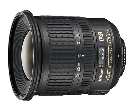 Nikon 999712 - Objetivo para cámara réflex AF-S DX 10-24MMF3.5-4.5 ...