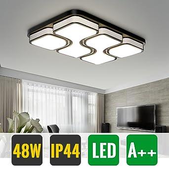HG® 48W LED Lámpara de techo Business Energy Saving White Pared de ...