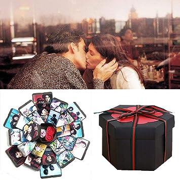 Caja de explosiones, Álbum de fotos de bricolaje hecho a mano Álbum de recortes,