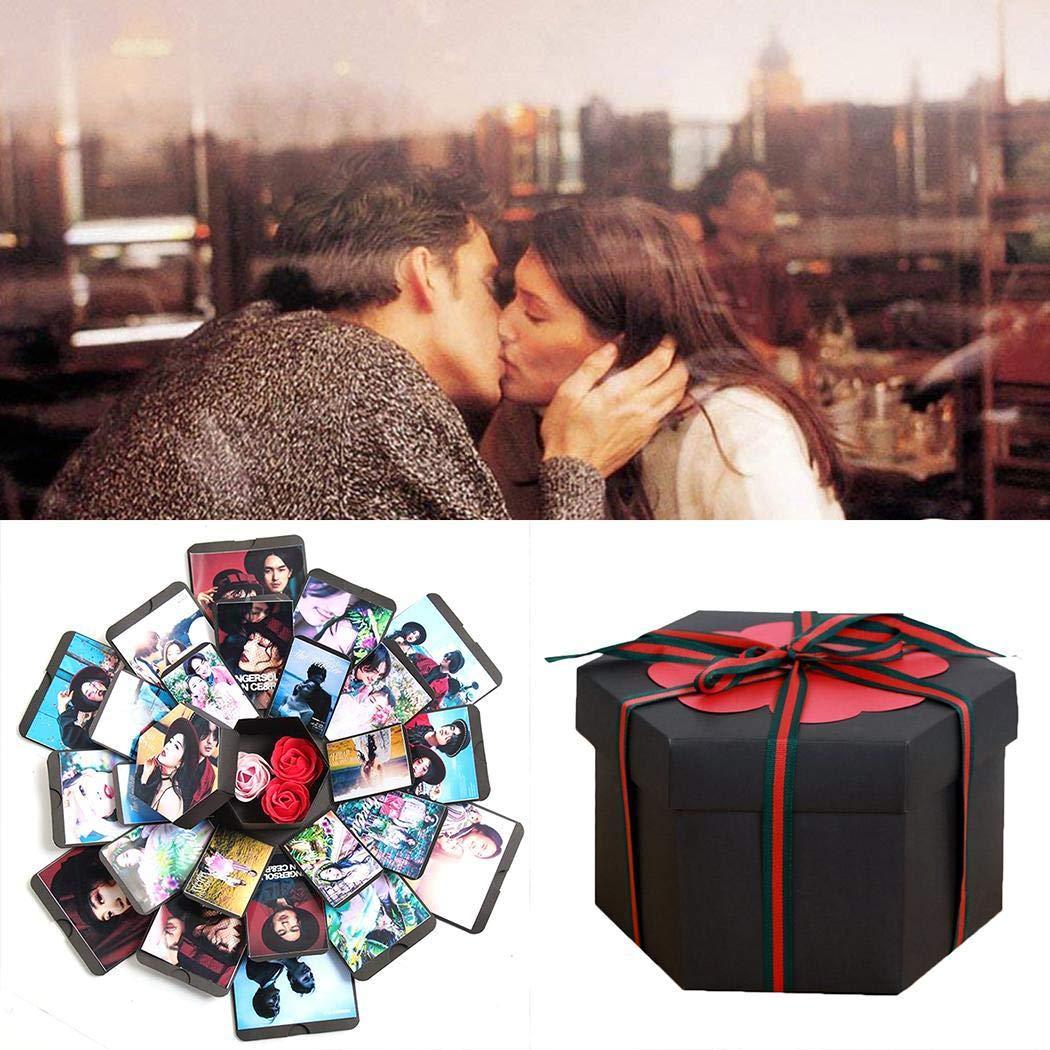 Fanala Explosion Box Lovers Birthday Valentine's Day Christmas DIY Album Creative Gift Albums