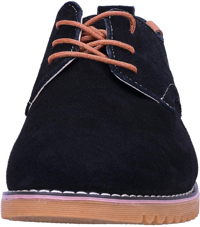 WhiFan Chaussure de Ville Homme Cuir Oxfords /à Lacets Derbies Chaussures