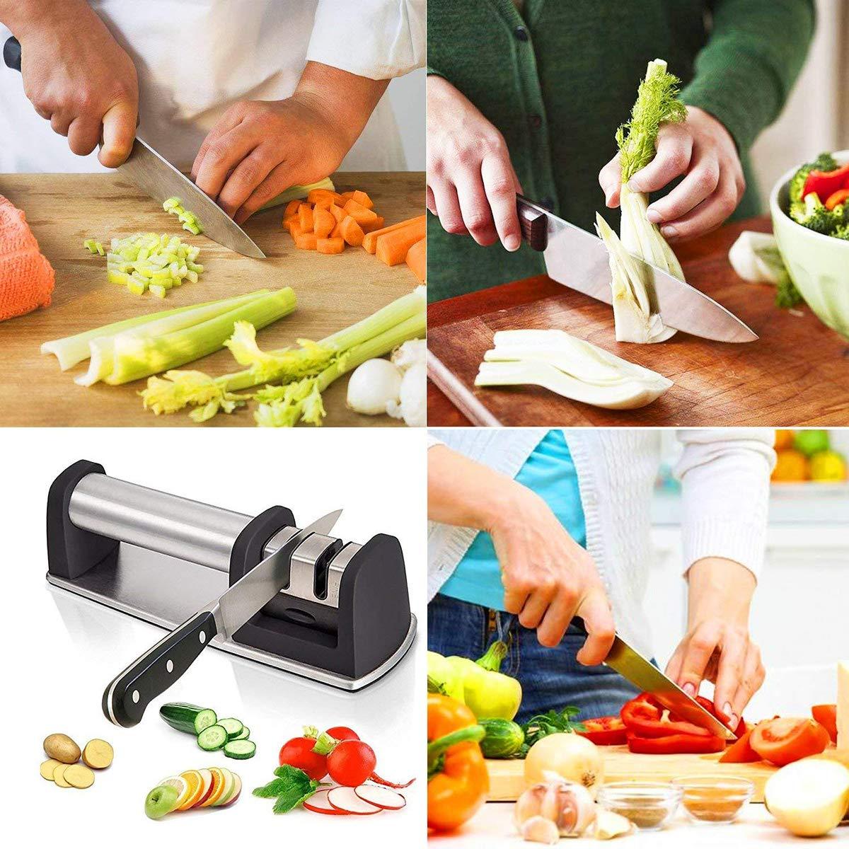 Compra YMXLJJ Afilador De Cuchillos De Cocina Professional 2 ...