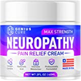 Neuropathy Nerve Pain Relief Cream - Maximum Strength Relief Cream for Foot, Hands, Legs, Toes Includes Arnica, Vitamin…