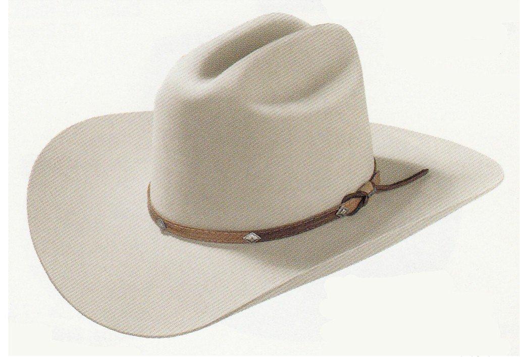9e6a9353618 Stetson Mens 4X Corral Buffalo Felt Hat Sand 7 1 2 SBCRAL-754098 Silver Sand