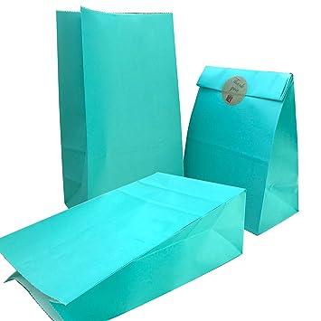 Amazon.com: Bolsa de fiesta de 50 piezas de papel kraft y ...