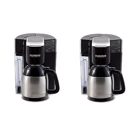 Amazon.com: NuWave BruHub Sistema de máquina de café ...
