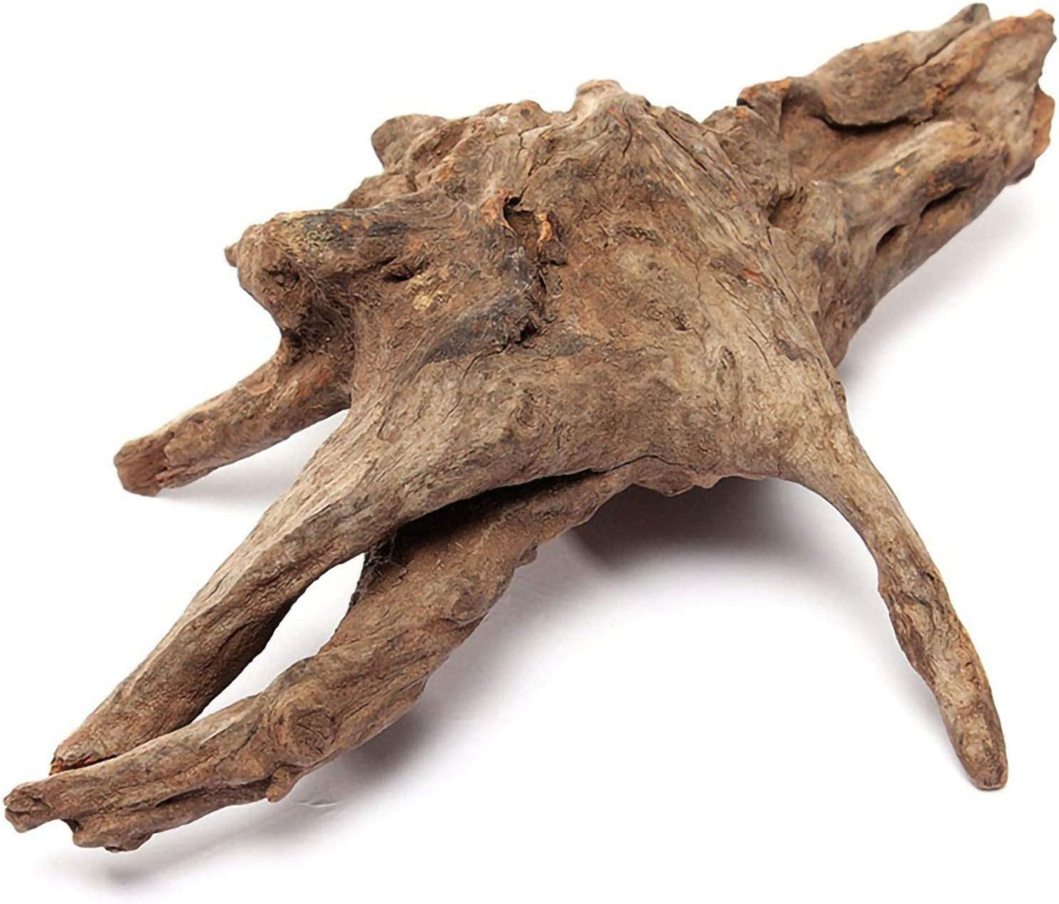 "Hamiledyi Aquarium Decoration Driftwood Log,Large Aquarium Ornament Natural Wood Branch Trunk Stump for Fish Tank Decor Reptiles(L: 7"" to 11"")"