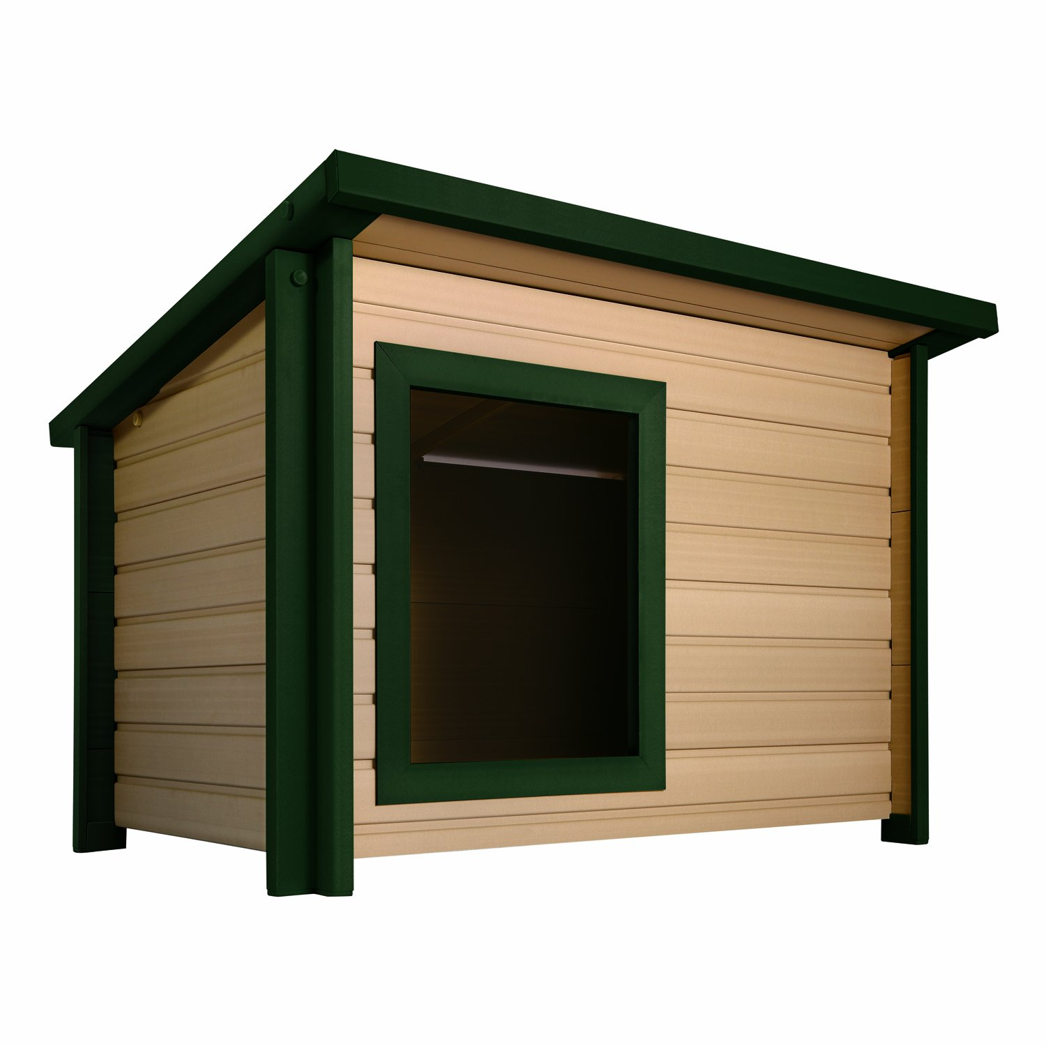 Jumbo ecoFLEX Rustic Lodge Style Dog House