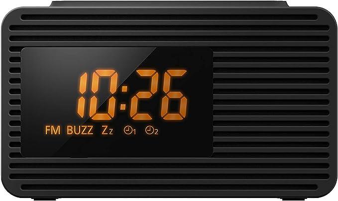 Panasonic Rc 800eg K Radiowecker Snooze Taste Sleeptimer Favoritentaste Schwarz Heimkino Tv Video