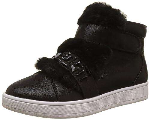 Buffalo Shoes 16t44-3 Fabric Shiny, Zapatillas Altas para Mujer: Amazon.es: Zapatos y complementos