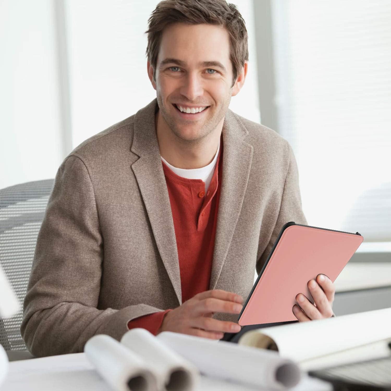 ELTD Funda Carcasa para Nuevo Kindle Paperwhite 2018 10th Generation, 2018 Release , Oro Rosa Ultra Delgado Silm Smart Fundas Duras Cover para  Kindle Paperwhite