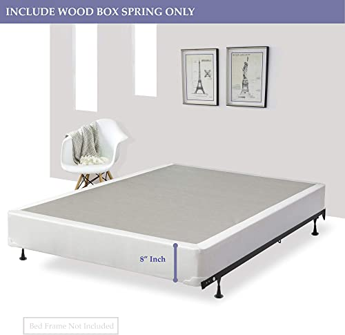 Mattress Solution Fully Assembled Wood Traditional Box Spring/Foundation For Mattre