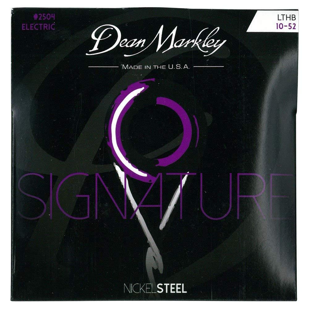 Dean Markley 2504B - Juego de cuerdas para guitarra eléctrica de acero de níquel.010