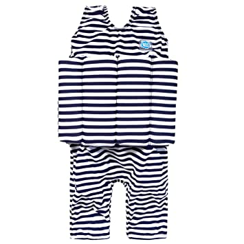 Splash About SJNS1 - Flotador corto de tirantes para niños, color azul marino/blanco, 1-2 años: Amazon.es: Zapatos y complementos
