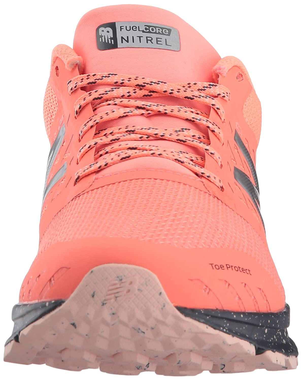 Amazon.com | New Balance Womens Nitrel v1 FuelCore Trail Running Shoe, Fiji, 9 B US | Trail Running