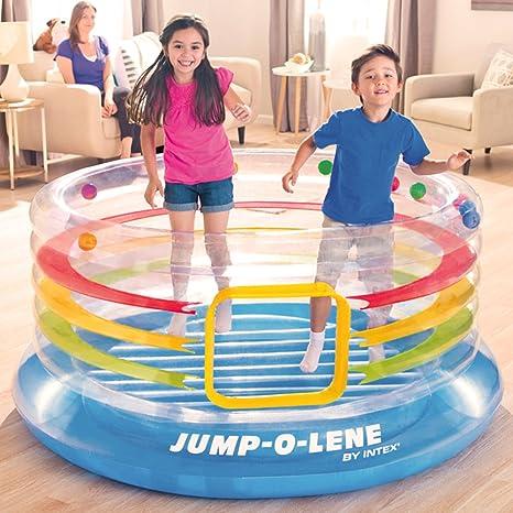 Intex 48267NP - Saltador Hinchable circular: Amazon.es: Juguetes y ...