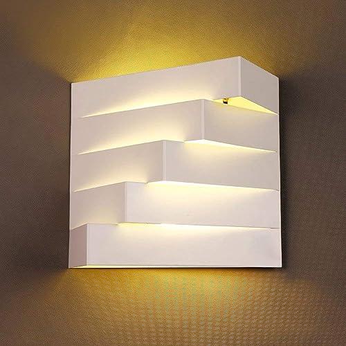 XAJGW E27 Wall Light Cube Modern Wall Lights