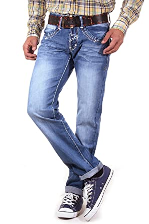 R NEAL Jeans Regular Fit W31 L34: : Bekleidung