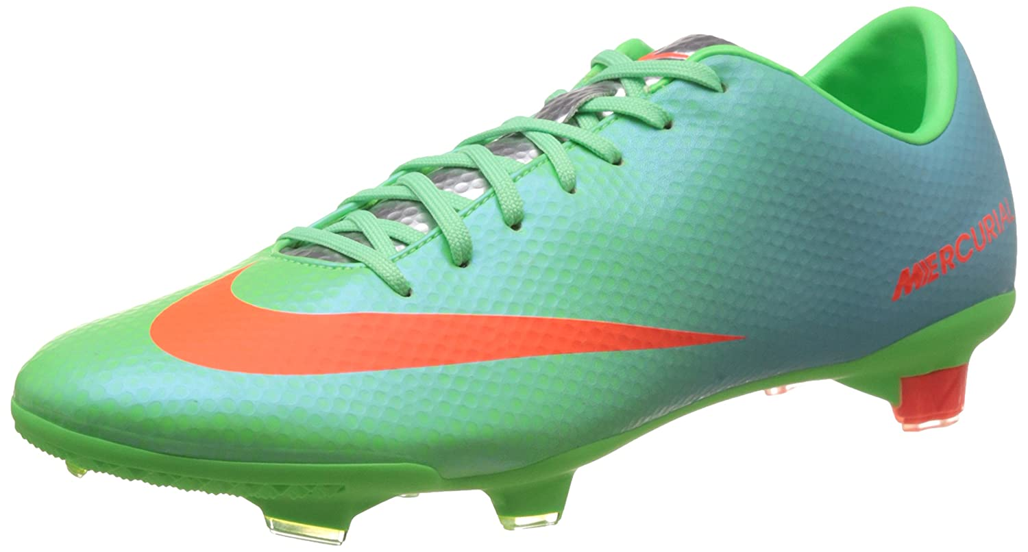 finest selection f617c fdb68 Amazon.com   Nike mercurial veloce FG mens football boots 555447 380 soccer  cleats firm ground   Soccer