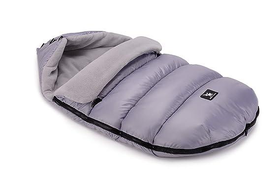 Cottonmoose Baby Moose Saco de invierno dormir térmico para carrito silla de bebé universal abrigo polar - disponible en diferentes colores (620 Black ...