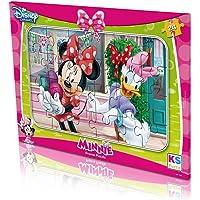 Minnie Mouse Frame Puzzle - Yapboz 24 Parça