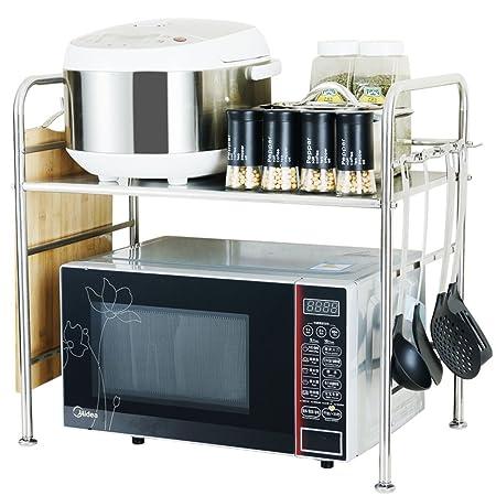Kitchen shelf Cocina, Horno, microondas, Estante de Acero ...