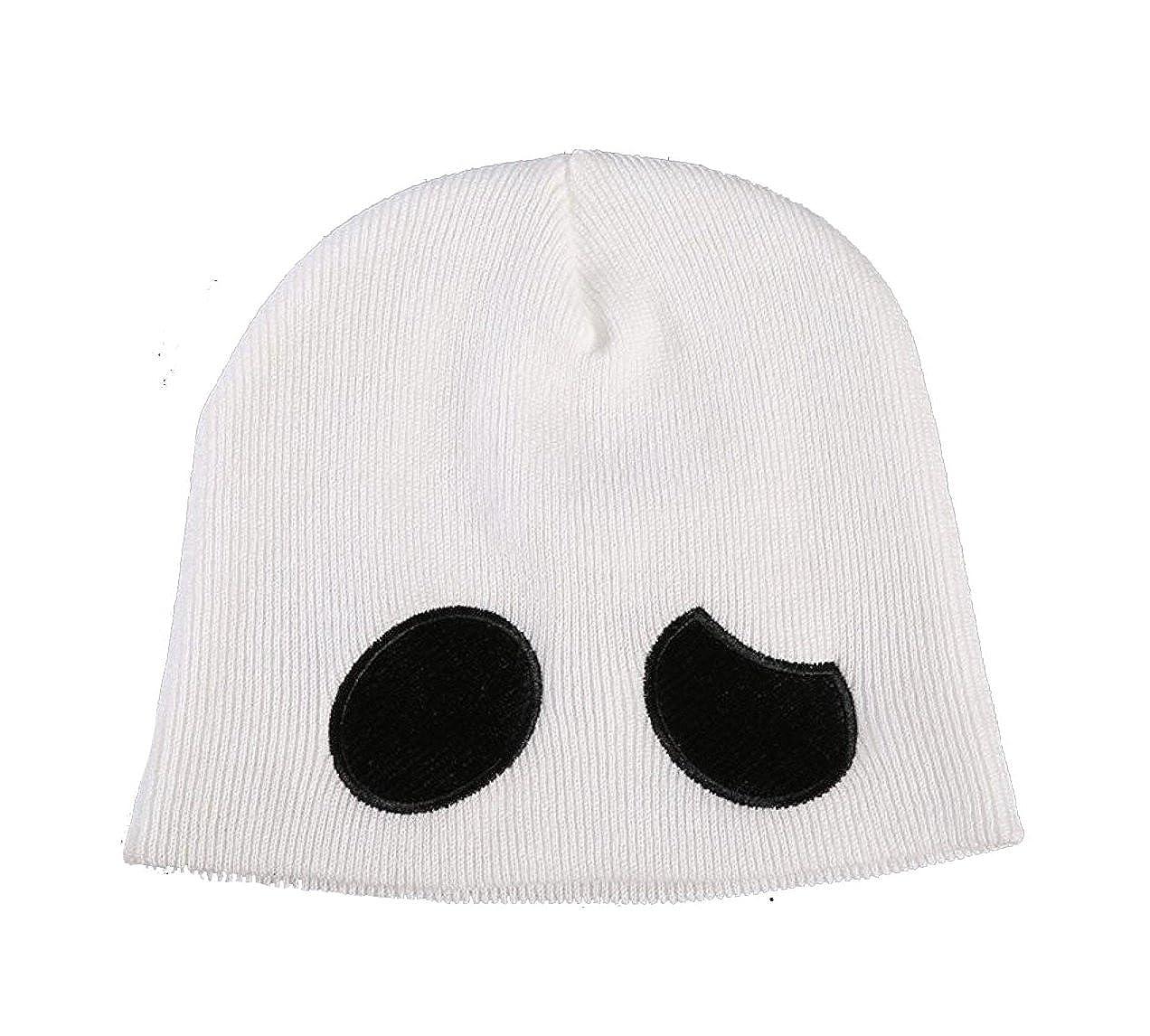 56f22f2203d Moniku Team Skull Grunt Embroidered Beanie Knit Cap
