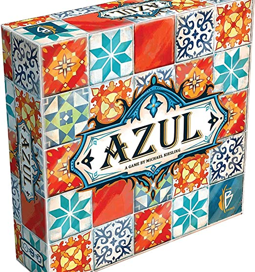 BDWN El Super Juego Juego de Mesa Azul Tiles para niños o niños ...