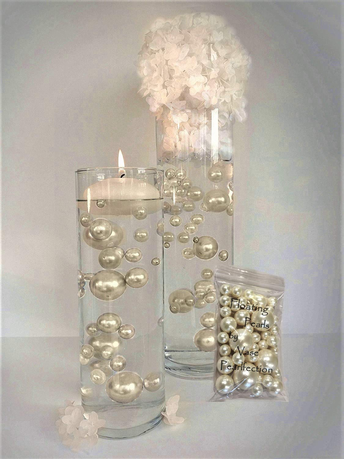 Amazon.com: NO Hole Ivory Pearls - Jumbo/orted Sizes Vase ... on pearl beads, pearl bridal headpieces, pearl flower fillers, pearl locket necklace, pearl acrylic nails, pearl diamond necklace, pearl bridal sash, pearl quotes, pearl spa products, pearl pedicure, pearl ornaments, pearl tassel necklace, pearl foams, pearl hair pins, pearl cookies, pearl quality chart, pearl ring settings, pearl flower necklace, pearl fabric, pearl tattoo,