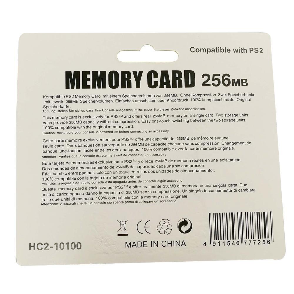 Amazon.com: KOBWA 256MB Memory Card for Sony Playstation 2 ...